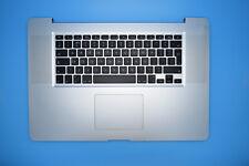 """Macbook Pro 17"""" Mediados de 2010) A1297 Teclado original de Reino Unido Reposamuñecas con touchpad"""