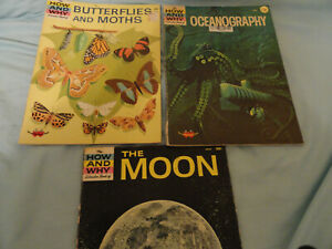 How and Why Wonder Books Lot Good Price