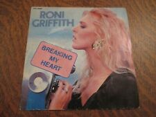 45 tours RONI GRIFFITH breaking my heart