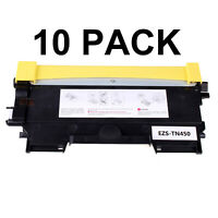 10x TN450 Compatible Toner Cartridge For Brother MFC-7360N MFC-7460DN MFC-7860DW