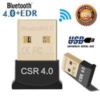 Bluetooth 4.0 USB Stick BT Adapter Highspeed Mini Nano Dongle für Laptop,PC,Mac