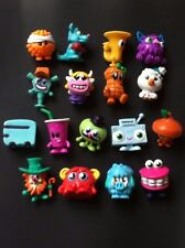 MOSHI MONSTERS Series 4 ☆ Regular Set 17 ☆Tomba Fizzy Hip Hop Boomer ROFL Pip