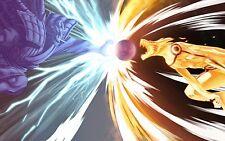 Poster A3 Naruto Shippuden Uzumaki Naruto Uchiha Sasuke 06