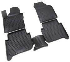 Gummimatten für VW Touran 1T ab 2006- Gummi Fußmatten 4 teilig 3D Schalen Qualit