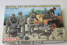 Dragon Sd.Kfz. 250 Engine w Mechanics plus more in 1/35, Parts Kit