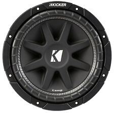 KICKER 43C124 12 Inch 300 Watt 4-Ohm COMP Series Car Audio SVC Sub Subwoofer C12