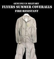 US Military Flyer/'s Flight Suit Coveralls Tan CWU-27P USAF Many Sizes VGC