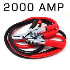 Cavi bipolari cavo avviamento batteria scarica auto moto camper 2000 AMP pinze