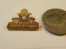 SMOKEY THE BEAR PREVENT FOREST FIRES PIN WILDFIRES