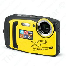 Fujifilm FinePix XP140 Digital Camera 600020657-RB 16.4MP Waterproof Yellow