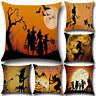 Halloween Decor Ghost Witch Pumpkin Sofa Pillow Case Cushion Cover Throw Home