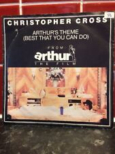 Christopher Cross - 7ins Vinyl - Best That You Can Do & Minstrel Gigolo