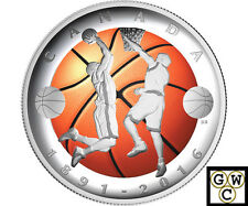 2016'125th Ann.Of the Invention of Basketball Color $20 Prf 1oz. Fine(NT)(17727)