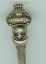 vintage Rolex Watches Bucherer Lucerne Switzerland Souvenir Spoon