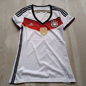 Germany Team Jersey Home football shirt 2014-2015 Adidas AC1131 Woman Size S UA1