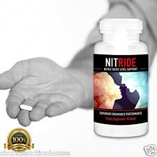 Nitride Nitric Oxide Blood Flow Booster For Male Enhancement & Pre Workout N.O.