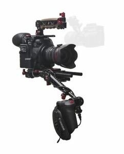 Zacuto Canon C200 EVF Recoil Pro V2 Shoulder Mounted Rig Camera Support Kit