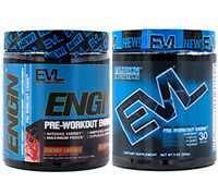 ENGN by EVL: Most Explosive Pre Workout Energy Drink Mix with Creatine, 30 srv
