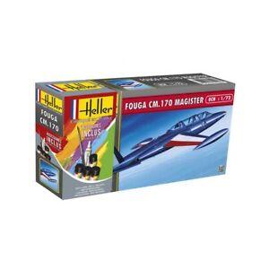 Heller 1/72 Fouga CM.170 Magister Gift Set # 56220