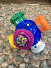 Vintage Brain Warp Tiger Electronic Handheld Game 1996 Talking Toy Blue Retro