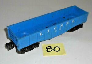 VINTAGE LIONEL O GAUGE 6042 BLUE HOPPER 80