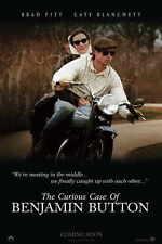 THE CURIOUS CASE OF BENJAMIN BUTTON Movie POSTER 11x17 H Brad Pitt Tilda Swinton