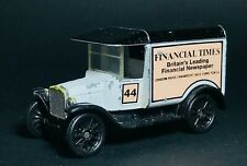MATCHBOX FORD MODEL - T 1921, 1989 FINANCIAL TIMES