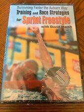 Swimming Sprint Freestyle by David Marsh (DVD) Tips, Drills & Skills, Training
