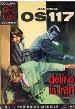 OS117 Jean Bruce Anno II N. 4 - Collana Agenti Segreti 1966