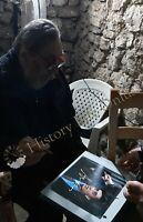Rara Foto autografata Flavio Bucci Signed Photo Autografo Cinema ESCLUSIVA !