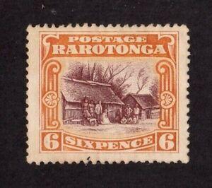 Cook Islands stamp #65, MHOG, VF - XF, A8, Raritonga