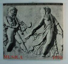Bärenreiter Verlag Kassel Basel Tours London Musica 1970 Kalender Y4-471