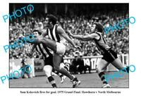 OLD 6 x 4 PHOTO FEATURING SAM KEKOVICH NORTH MELBOURNE FC 1975 GRAND FINAL WIN