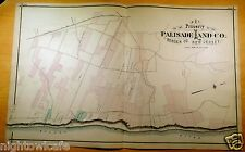 Rare 1876 Maps PALISADE Norwood HILLSDALE Bergen County NJ New Jersey ORIGINAL