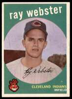 1959 Topps Ray Webster Chicago Cubs #531