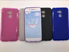 Funda Silicona Huawei Honor 6A + protector cristal templado (opcional)