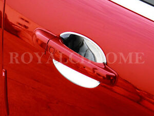 US Seller Door Handle Insert Cups ROYAL CHROME x2 for JAGUAR 06-15 XK XK XK8 XKR