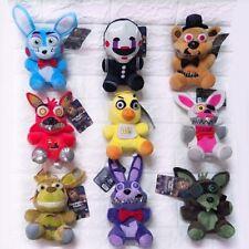 FNAF Five Nights at Freddy's Fazbear Game Short-Plush Toy Stuffed Dolls 9pcs/set