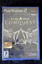 PS2 : STAR TREK : CONQUEST - Nuovo, sigillato ! Domina la galassia !
