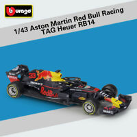 NEW 1:43 ASTON MARTIN RED BULL RACING TAG HEUER RB14 3# DIECAST DIE-CAST MODEL