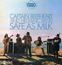 "CAPTAIN BEEFHEART ""SAFE AS MILK"" ORIG FR 1970 DIFF. COVER"