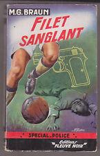 C1 M G Braun FILET SANGLANT Sam et Sally EO Special Police 83 1955 Football