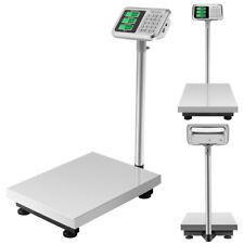 660lbs/300kg Weight Computing Digital Floor Platform Scale Postal