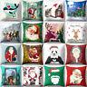 """TH_ 18x18"""" Christmas Pillow Case Sofa Car Throw Cushion Covers Home Decor"""
