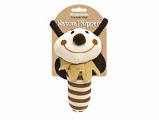 Rosewood Natural Nippers Shake & Rattle Dog Toy | Puppy Multi-Textured Small Pet