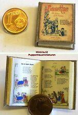 1020# Nostalgie Kinderbuch Lachende Kinder - Puppenhaus - Puppenstube - M 1zu12