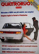 Quattroruote 456 1993 Kia Sephia. Mercedes e BMW complici. Lexus LS 400   [Q.61]