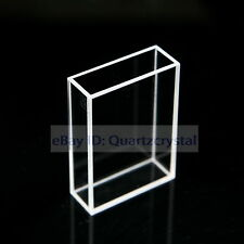 Fluorescence Quartz Cuvette, 1cm 2cm 10mm, 20mm Large Cell Cuvettes spectrometer