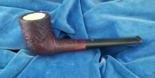 Vintage Rare Golden Crown Meerschaum lined NOS Made in England #13 Estate pipe