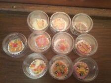 10x Dekokuchen,bunte Kuchendeko,Kuchen Dekoration,Einzel verpackt!happy Birthday